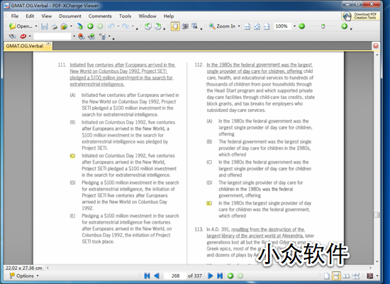PDF-XChange Viewer - PDF 悍将 1