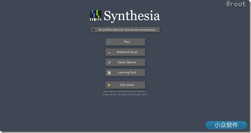Synthesia – 在 PC 上模拟弹钢琴的游戏