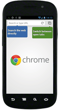 Chrome for Android Beta 初印象 3