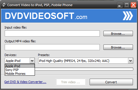 Free Video to iPod Converter 2.1