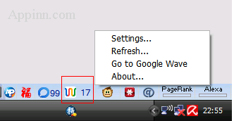 Google Wave Add-on for Firefox 1